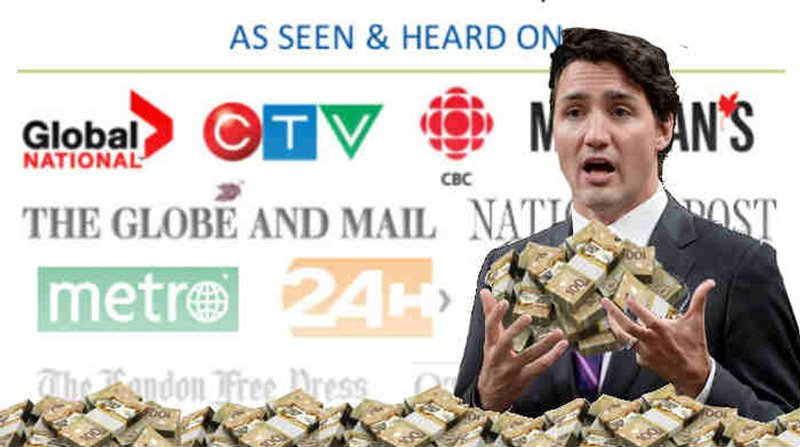 trudeau buys canadian media