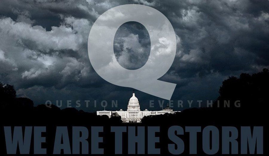 Q we are the storm