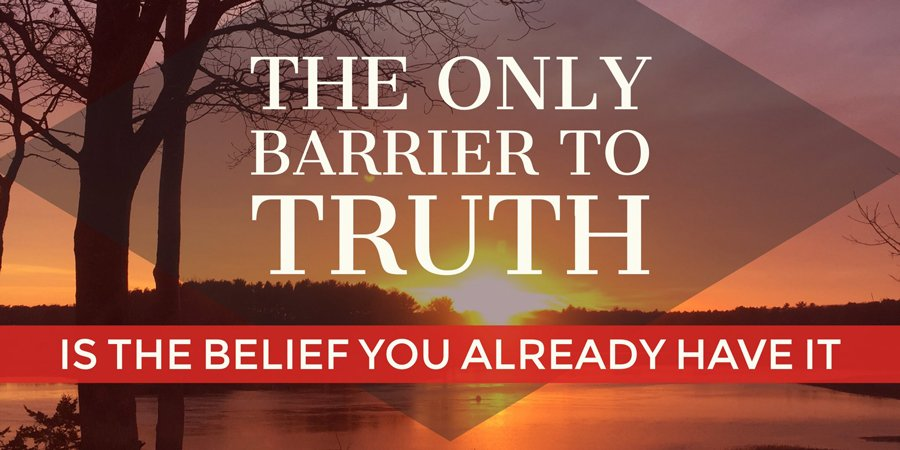 barrier to truth