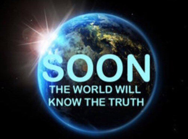 soon world will know truth