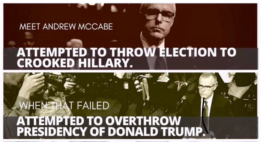 Andrew McCabe liar planned coup