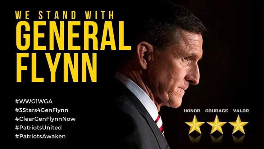 we stand with General Flynn