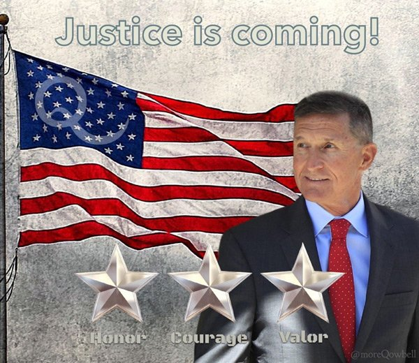 Flynn - justice is coming