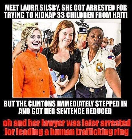 Laura Silsby child trafficker and Clintons
