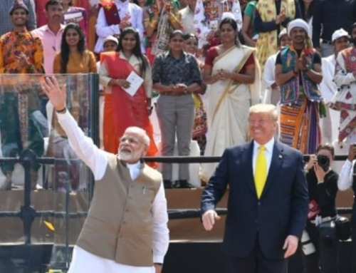 President Trump Gets an Extraordinary Welcome from the People of India!