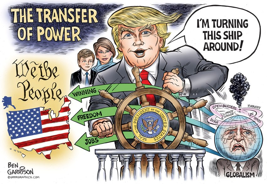 Trump is returning power to the people