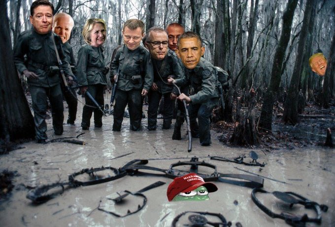 Trump rules the swamp