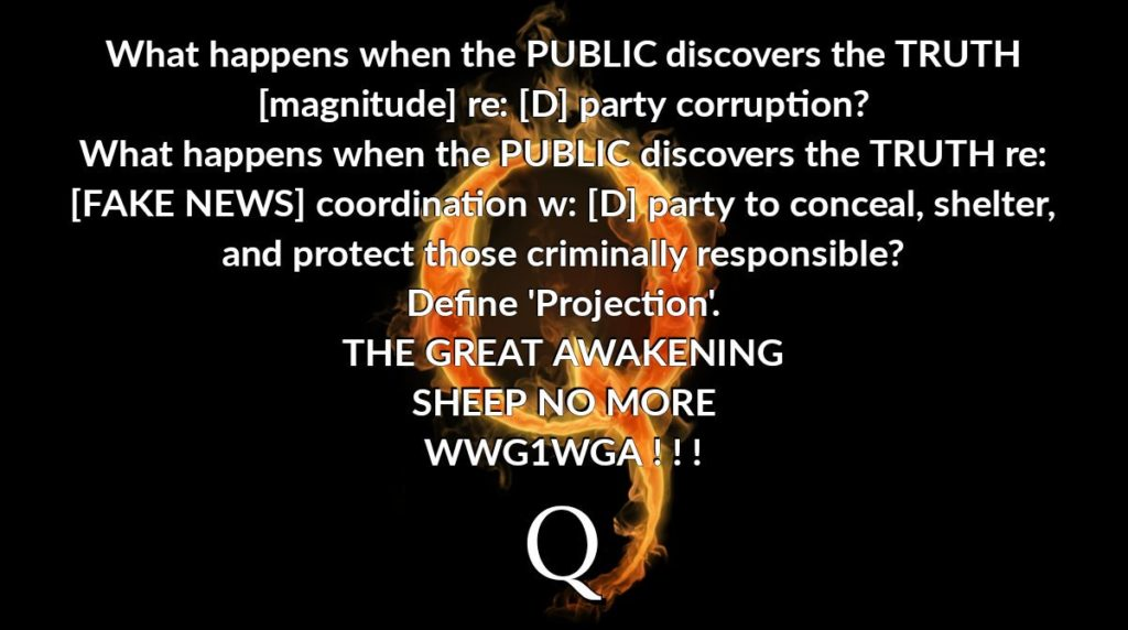q what happens when public finds out truth