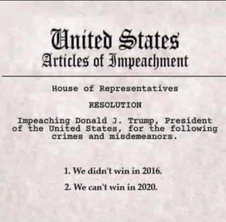 real articles of impeachment