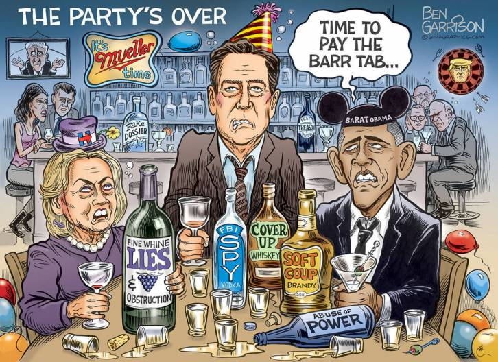 time to pay the Barr tab