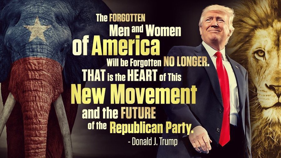President Trump is for the people