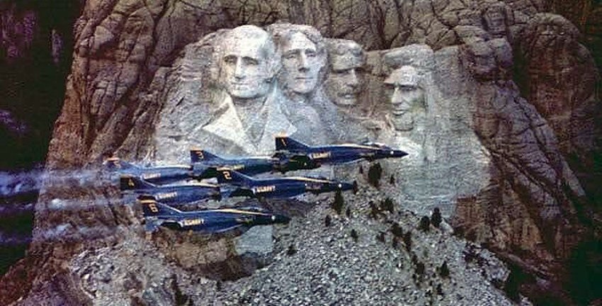 Mount Rushmore 4th of July