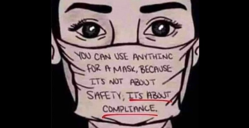 masks are about compliance