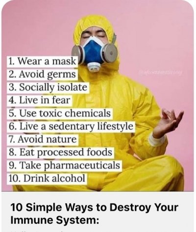 ways to destroy your immune-system