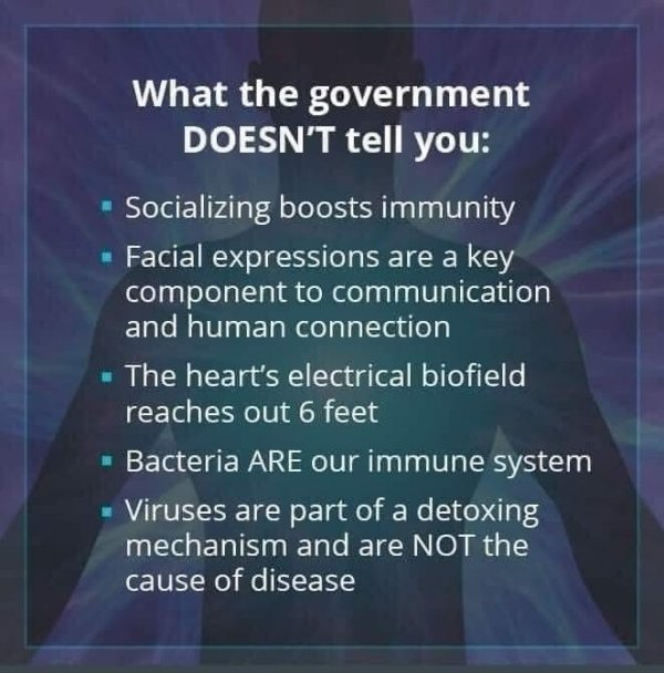what govt doesnt tell you