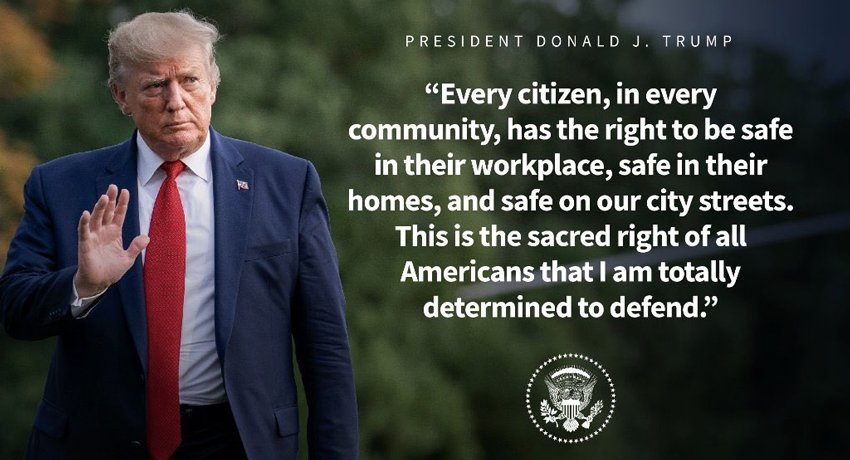 Trump safety of American people