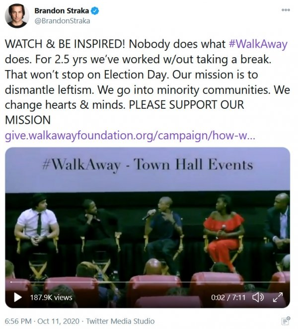 WalkAway voices for Trump