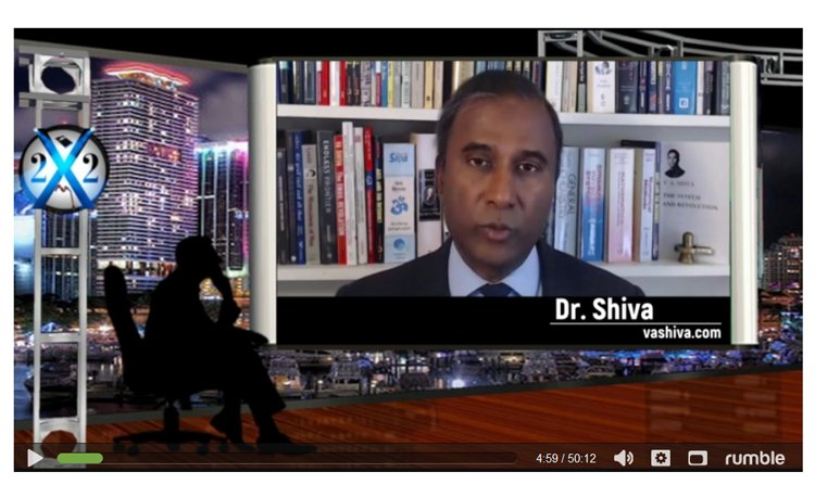 Dr Shiva interview X22 Report