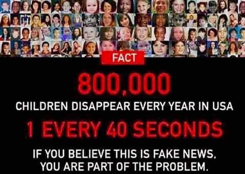 children disappearing truth